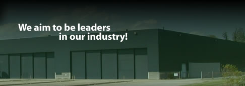 We aim to be leaders in our industry!